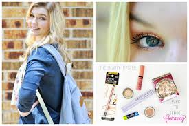 back to makeup look giveaway