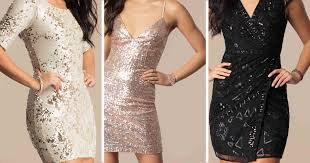 sequin dress to be cly not too flashy