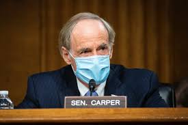 Watch Sen Carper Drop F-Bombs During DeJoy Senate Hearing - Pop Times UK
