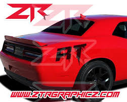 Custom Dodge Challenger Dripping Rt Quarter Panel Decals Ztr Graphicz