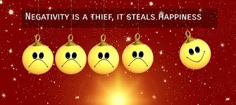 Negativity is a thief, it steals happiness - Quote