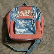 vintage harleydavidson mini backpack