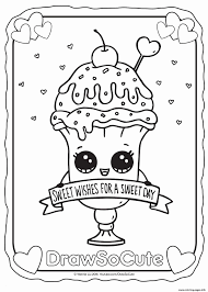 Kawaii Coloring Pages Animals Kleurplaten Tekenen