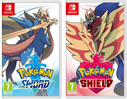 Pokemon Sword or Shield - Nintendo Switch - ON HAND READY TO SHIP ...