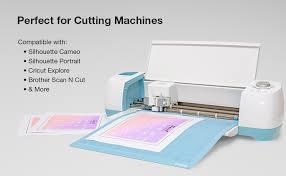 Amazon Com Sticker Paper 2 000 Sheets White Matte 8 5 X 11 Full Sheet Label Inkjet Or Laser Printer Online Labels Office Products