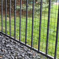 Dog Proofer Wide Gap Fence Standard Dog Pet Barrier Reviews Wayfair
