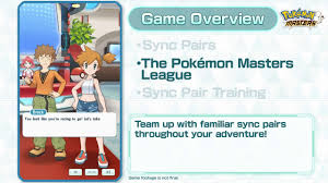 Pokémon Masters - Game Overview Trailer - YouTube