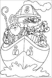 Stoomboot Sinterklaas Kleurplaten Knutselen Sinterklaas