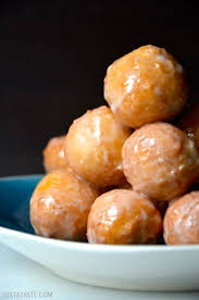 easy homemade glazed doughnut holes