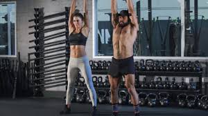 tri n bi kettlebell workout with