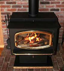 clean wood stove glass the best way
