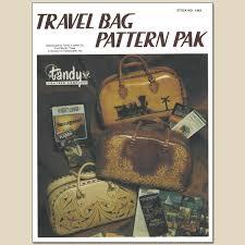 travel bag pattern pak