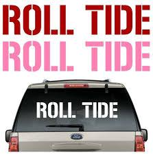 Buy 2 Get 1 Free Roll Tide Car Decal Various Size Color Sticker Flag Alabamacrimsontide Alabama Crimson Tide College Decals Tide