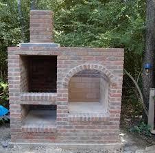 brick vertical smoker brick oven