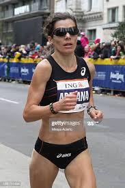 Adriana Nelson at the 2013 New York City Marathon on November 3 ...