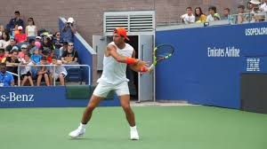 Rafael Nadal Forehand Slow Motion - YouTube