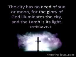 bible verses about god s glory revealed