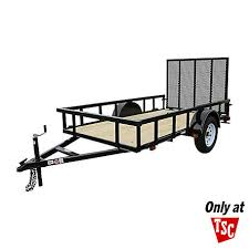 Tractor Supply 5 5 Ft X 10 Ft Square Carry On Trailer Model Model 5 5x10gwhdp At Tractor Supply Co