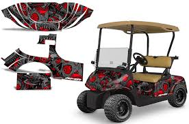 Ezgo Rxv Golf Cart Graphics Invision Artworks Powersports Graphics
