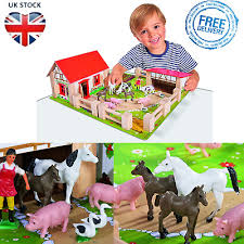 10pcs Farm Animals Fence Toys Military Fence Simulation Model Toy For Childr Ri