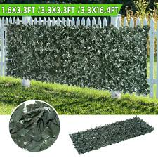 Zj Artificial Hedge Roll Screening Ivy Leaf Garden Fence Privacy Screen 1x5m 1x1m 0 5x1m Shopee Malaysia