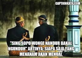 √ caption bahasa jawa terbaru quotes kalimat bijak budaya dan dp