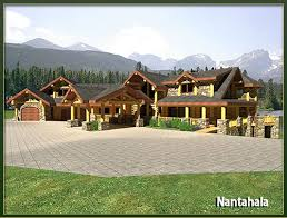 log homes 3500 to 5000 square feet