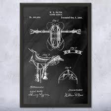 horse riding saddle framed print