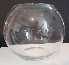 large glass bubble vase giant globe