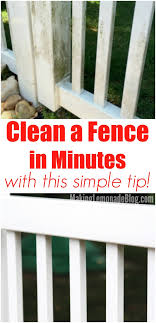 Simple Tip For Quickly Cleaning Vinyl Fences And Outdoor Furniture Making Lemonade