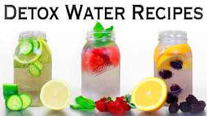 3 detox water recipes for weight