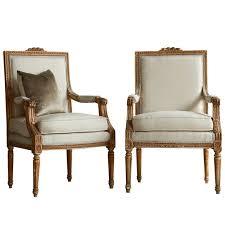 gorgeous vintage louis xvi armchairs