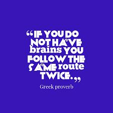 greek wisdom about experience