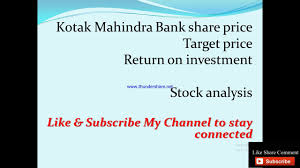 KOTAK MAHINDRA BANK Share Price Latest ...