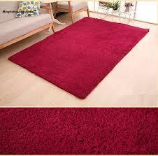 1pc 9 colors soft rugs carpet mats