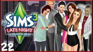 Lets Play: The Sims 3 Latenight - (Part 22) - Baby Mama Drama!