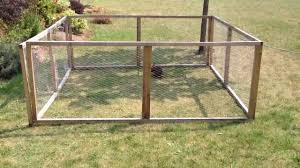 Canadian Outdoor Easy To Build Rabbit Run Youtube