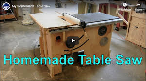 16 Diy Table Saws And Fences For Your Workshop The Self Sufficient Living