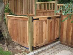 Privacy Fences Montgomery County Trash Enclosure Mainstreet Fence