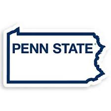 Ncaa Penn State Nittany Lions Home State Auto Car Window Vinyl Decal Sticker 754603668821 Ebay