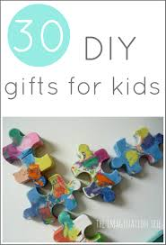 30 diy gifts to make for kids the