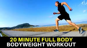 full body bodyweight workout high