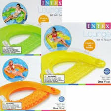 intex sit n float inflatable colorful