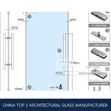 8mm 10mm 12mm 15mm 19mm tempered glass