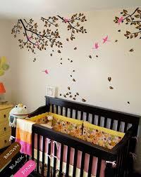 Baby Tree Branches Wall Decal Nursery Birds Stickers Wall Art Decor Wall Mural Kr048 Wall Decals Vinyl Art