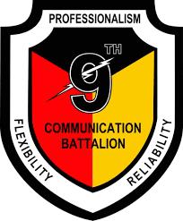 U S Marine Corps 9th Communications Battalion Window Decal Sticker