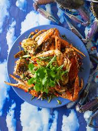 wok-fried black pepper crab recipe ...