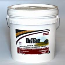 Dritac Eco 5500 Pressure Sensitive Vinyl Flooring Adhesive 4 Gallons At Menards
