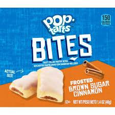 brown sugar cinnamon pop tart bites