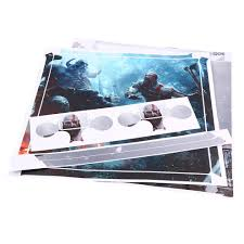 God Of War Body Vinyl Skin Sticker Decal Ps4 Pro Console Controllers Walmart Canada